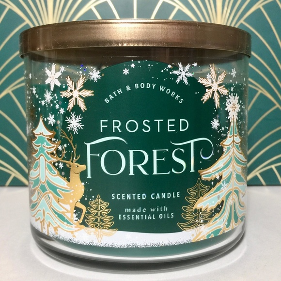 FROSTED FOREST 3 Wick Candle